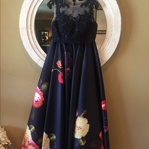 2 Piece Formal Gown